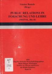 Public Relations in Forschung und Lehre (PRIFOL II)