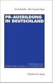 PR-Ausbildung in Deutschland